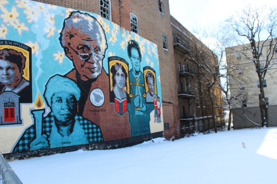 The Germantown YWCA pictured in February 2015 (Photo by Jill Saull)